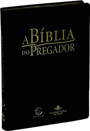 Portuguese Bible for Pastors (Black)