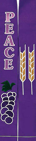 Celebration Purple Peace 110'' Stole