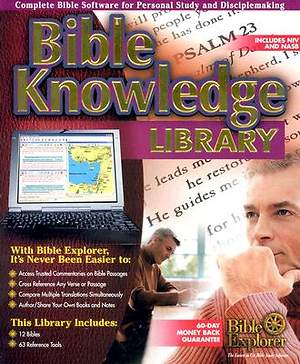 New Bible Knowledge Library CDROM