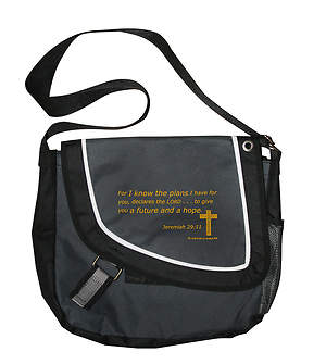 Jeremiah 29:11 Messenger Bag