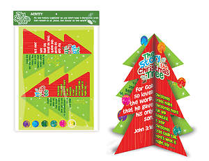 The Story of the Christmas Tree 3D Activity Kit - 6 Pack