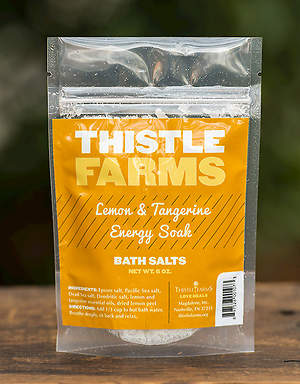 Thistle Farms Bath Salt - Lemon and Tangerine - Energy