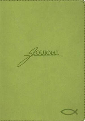 Green Journal with Fish