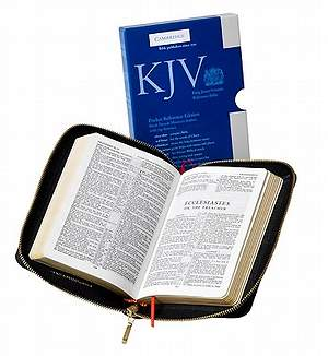 King James Version Pocket Reference Edition Bible