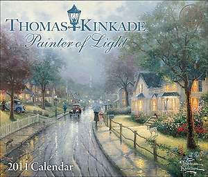 Thomas Kinkade Painter of Light  2011 Day-To-Day Calendar