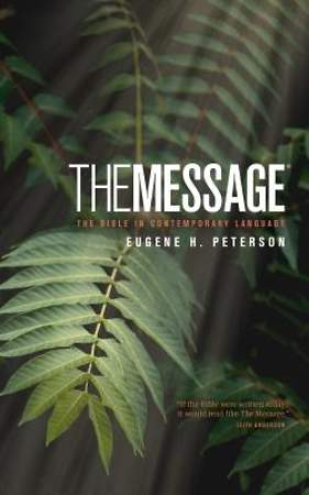 The Message Bible Numbered Edition Personal Size with Topical Concordance