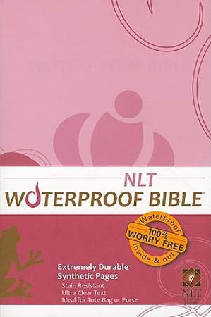 Waterproof Bible - NLT - Tree Bark