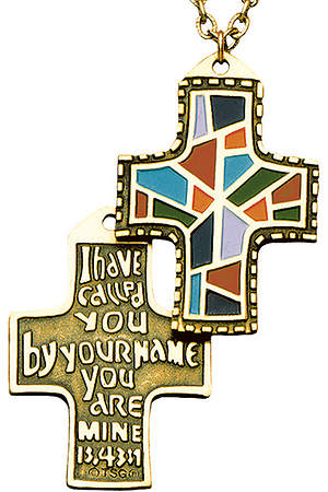 I Have Called You Cross Necklace
