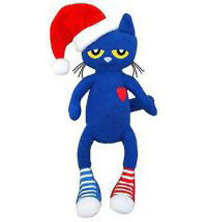 Pete the Cat Saves Christmas Doll
