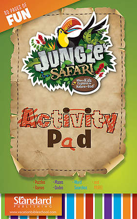 Standard VBS14 Jungle Safari Activity Pad