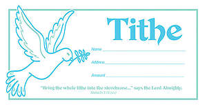 Tithe Offering Envelope - Package of 100