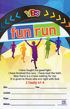 Brentwood Benson VBS 2015 Fun Run Station Promotional Posters