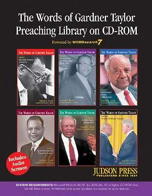The Words of Gardner Taylor Preaching Library on CD-ROM