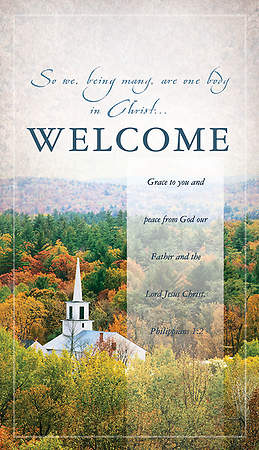 Welcome Pew Cards Package of 50