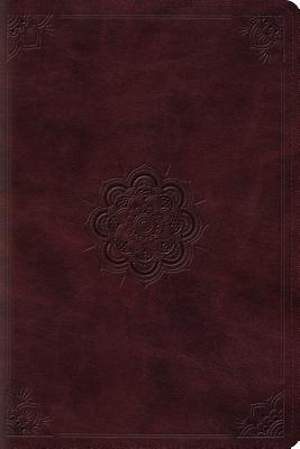 ESV Personal Reference Bible (Trutone, Mahogany, Emblem Design)
