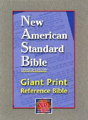 Bible NASB Reference Giant Print