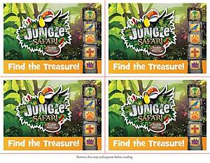 Standard VBS14 Jungle Safari Invitation Postcards (52)