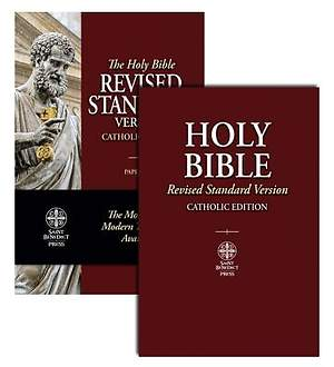 The Holy Bible Revised Standard Version Catholic Edition Standard Size
