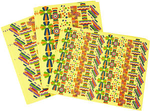 Concordia VBS 2015 Camp Discovery Foam Cross Stickers
