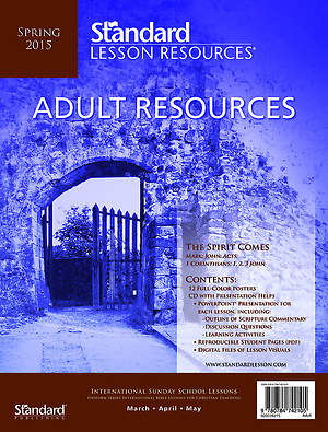 Standard Lesson  Quarterly Adult Resources Visuals Kit Spring 2015