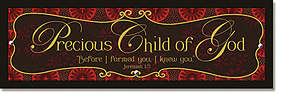 Child of God Plaque - Words of Grace
