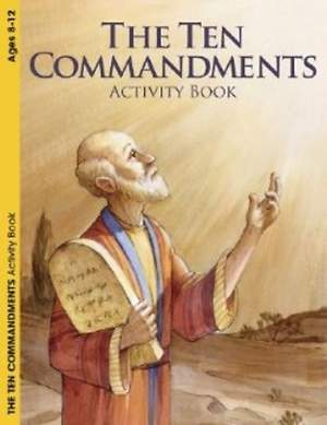 The Ten Commandments Reproducible Activity Book