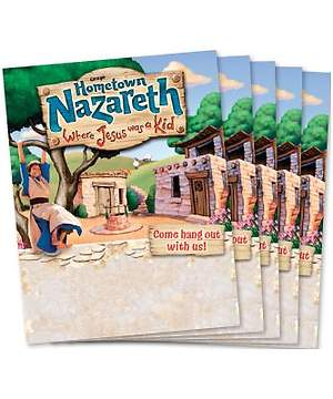 Group Vacation Bible School 2015 Nazareth Publicity Posters (package of 5) VBS