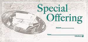 Special Offering Envelope (Package of 100)