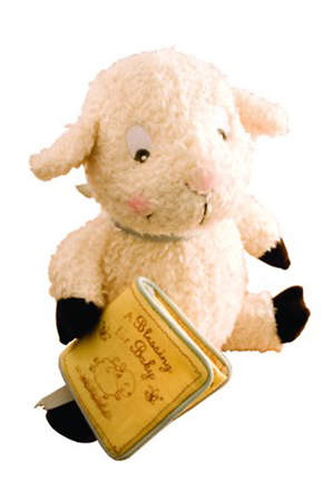 Really Woolly Lamb with Blessing Book