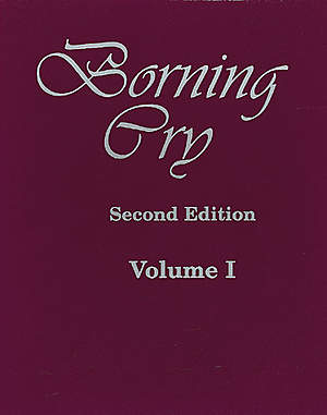 Borning Cry Second Edition Volume 1