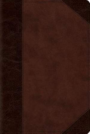 ESV Reader's Bible (Trutone, Brown/Walnut, Portfolio Design)