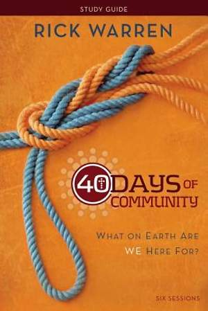 40 Days of Community Study Guide: