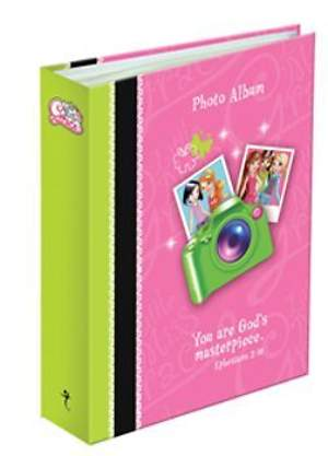 Little Miss Grace Photo Album Pink