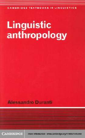Linguistic Anthropology [Adobe Ebook]