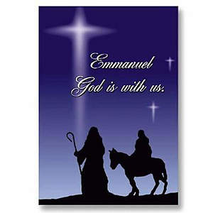 Emmanuel  God is with Us Boxed Cards