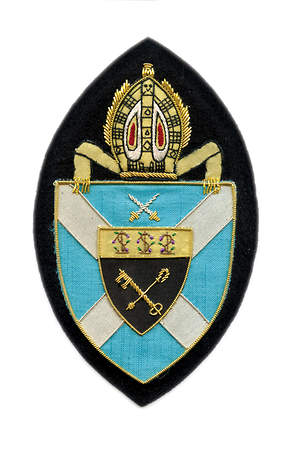Hand Embroidered Diocesan Seal - Diocese of Central Florida