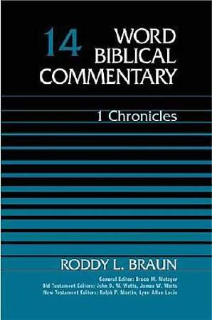Word Biblical Commentary - First Chronicles