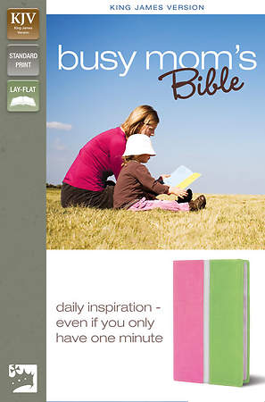 King James Version Busy Mom's Bible