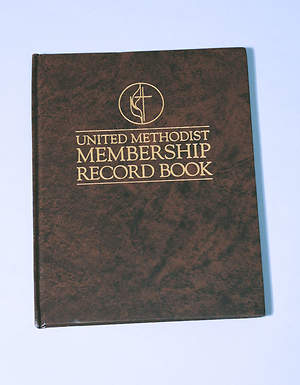 United Methodist Membership Records Book