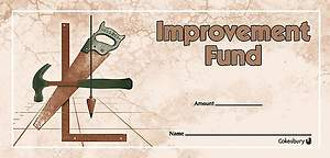 Improvement Fund Offering Envelope (Package of 100)
