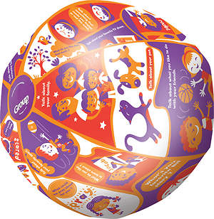 Preschool Throw and Tell Ball