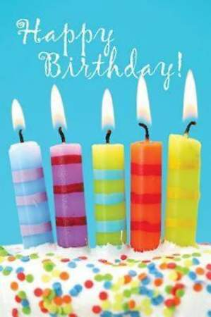 Birthday Candles & Cake Postcard (Package of 25)
