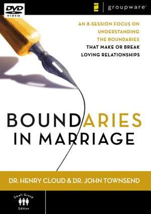 Boundaries In Marriage DVD