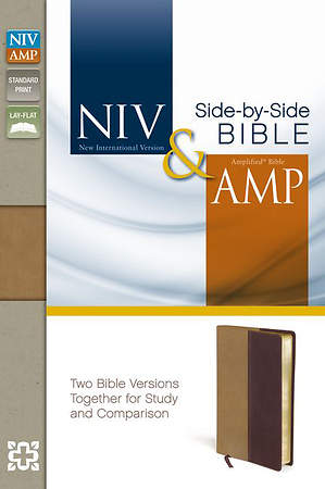 NIV and Amplified Side-By-Side Bible