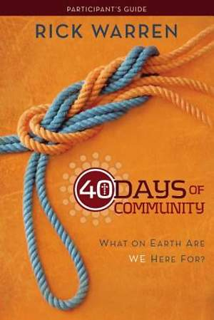 40 Days of Community Study Guide 3-Product Pack