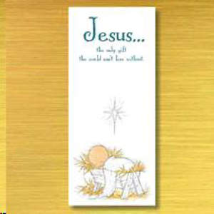 Jesus Is The Only Gift Boxed Cards
