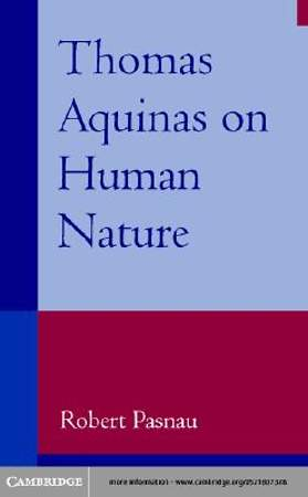 Thomas Aquinas on Human Nature [Adobe Ebook]