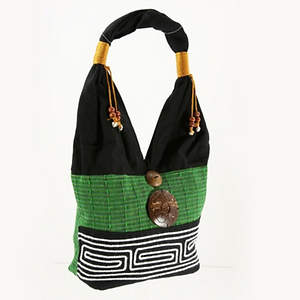 Thai Cloth Bag - Lime