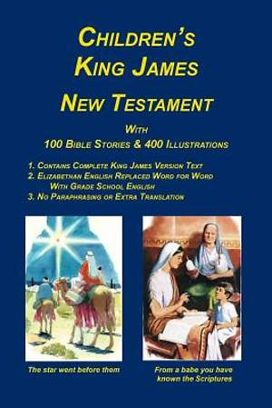 Children's King James Bible, New Testament