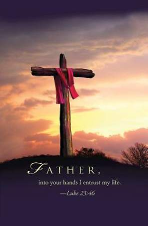 Father Good Friday Bulletin 2014, Regular (Package of 50)